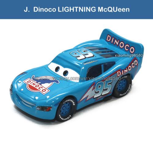 Lot of Mattel Disney Pixar Cars Metal 1:55 Diecast Toys Car Set Loose New Choose