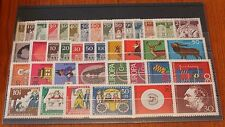 Germany Complete Year 1966 Stamp Set Mint Never Hinged MNH German Stamps