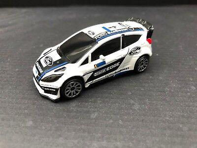 Majorette Ford Fiesta WRC Qatar no.4 1//58 201B New in Box Free Display Box