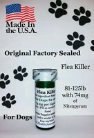 K9 Flea Killer Dogs 81-125 Lb 12+1 Free Killer Generic Capstar Sealed Controls