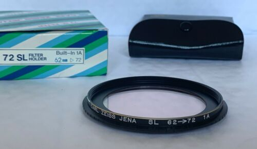 72mm Stepped Skylight 1A Filter Vintage Carl Zeiss Jena 62mm