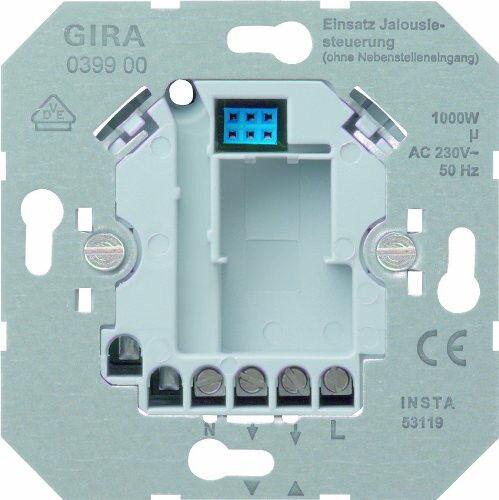 Gira 039900 Jalousiesteuerung 230V 230V 230V Einsatz ohne Nebenstelleneingang | Shop Düsseldorf  337ee6