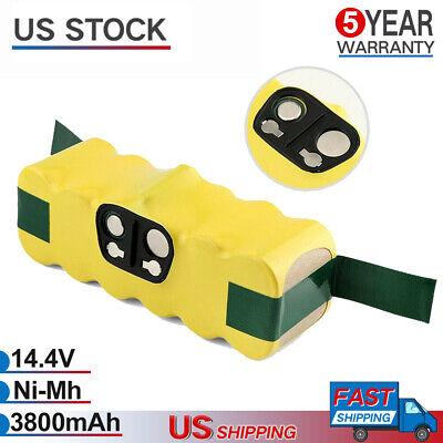 For iRobot Roomba 500 600 700 800 900 R3 Series Vacuum 14.4V NI-MH Battery 4.5AH