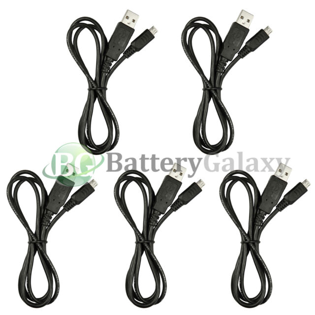 5 Micro USB Charger Cable Cord for Phone Samsung Galaxy Note 2 3 4 5 3,000+SOLD