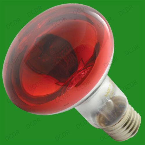 10x 60W R80 Coloured Reflector Dimmable Disco Spot Light Bulbs ES E27 Screw Lamp