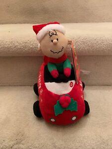 Peanuts Charlie Brown Speedster Wobbler w//Sound//Motion by Gemmy Corp ~ NWT ~