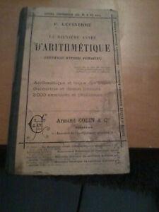 CoopéRative La Deuxieme Annee D'arithmetique - Leyssenne, P. - Armand Colin & Cie (1888) Garantie 100%