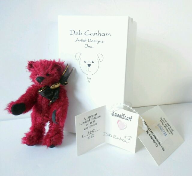 Deb Canham Sweetheart Red Bear LE 149/600