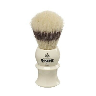 Kent Visage VS30 Shaving Brush - Pure Bristle - Same Day Shipping - Size Small