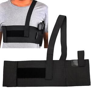 Mens-Hidden-Military-Tactical-Chest-Pistol-Hand-Gun-Holster-Backpack-Pouch-Bags