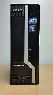 ACER VERITON X4610G i3 2120 2nd GEN 3.3GHz, 4GB RAM, 250GB Hdd SFF WIN 10