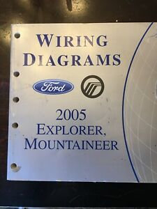 2005 Ford Mercury Electrical Wiring Diagram Service Manual ...