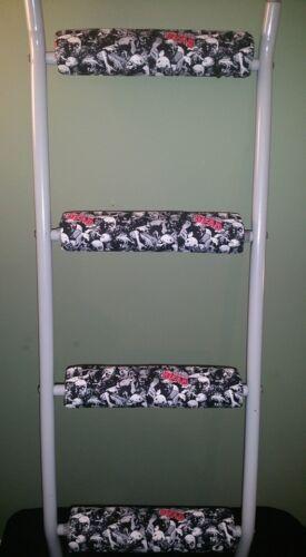 Walking Dead//ZOMBIES Rembourré superposé échelle Rung Couvre No-Outil Installation antidérapantes