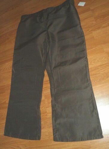 Wine Cherokee Scrubs LUXE Low Rise Straight Leg Drawstring Pants 1066 WINV