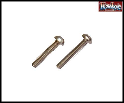 Pack of 32 Kadee No 1716-1-72 /& 2-56 Metal /& Nylon Screw Assortment