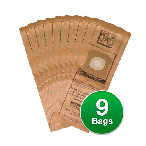 Kirby Genuine Micro Filtration Vacuum Bags For G4 G5 9 Count G6 Vacuums
