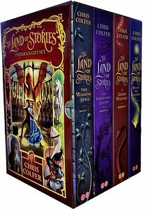 The-Land-of-Stories-Collection-Chris-Colfer-4-Books-Box-Set-Enchantress-Returns