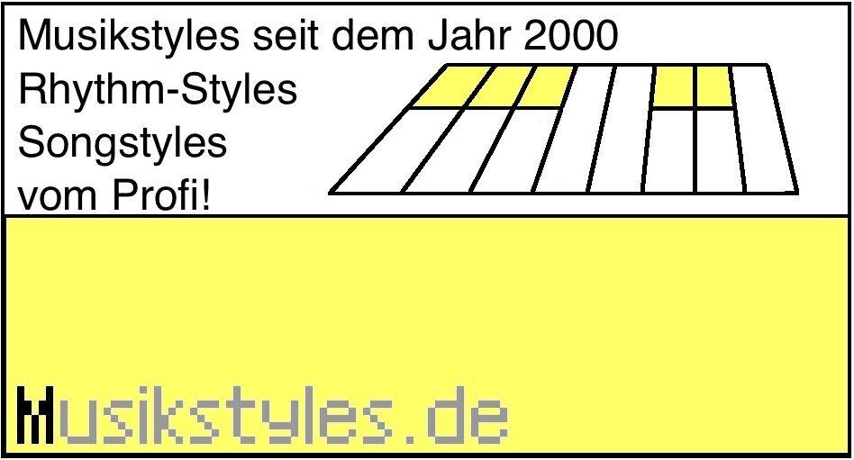 18.000 Mega Styles für WERSI Orgel (Select Model) Download oder USB-Stick