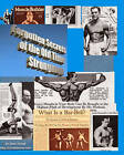 Forgotten Secrets of the Old Time Strongmen by Dave Yarnell (Paperback / softback)