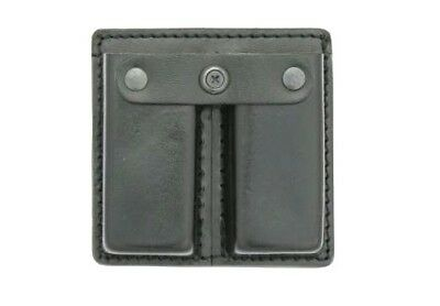 Medium Dutyman 8511U Plain Leather Double Magazine Pouch