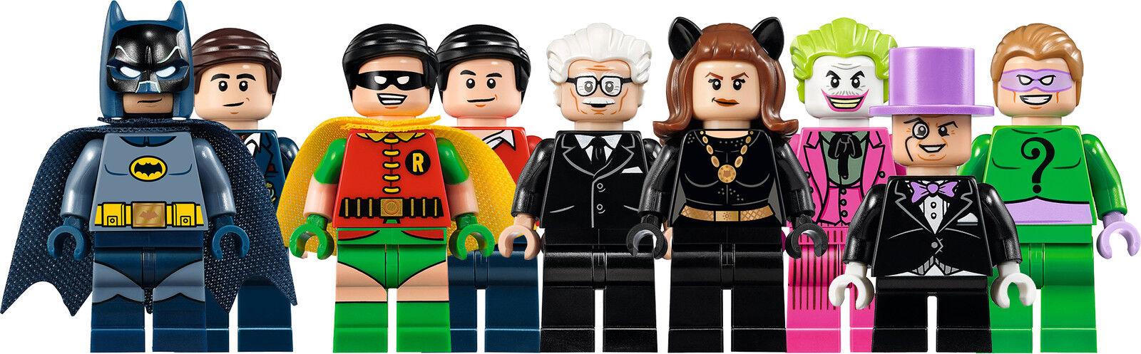 LEGO Batman Classic TV Series Batcave 76052 MINI FIGURES USC LIMITED EDITION