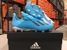 Adidas Junior X 19.3 FG Soccer Cleats (Bright Cyan/Black) Size: 13k-6y NEW!