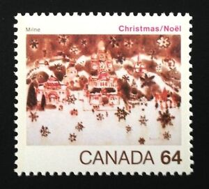 Canada-1042-MNH-Christmas-Snow-in-Bethlehem-Stamp-1984