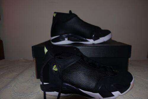 baloncesto Jordan retro verdes negras de blancas Air Zapatillas 14 BvzF5