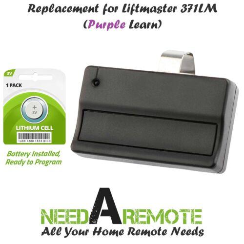 Replacement for Liftmaster 371LM Car Garage Door Remote Opener