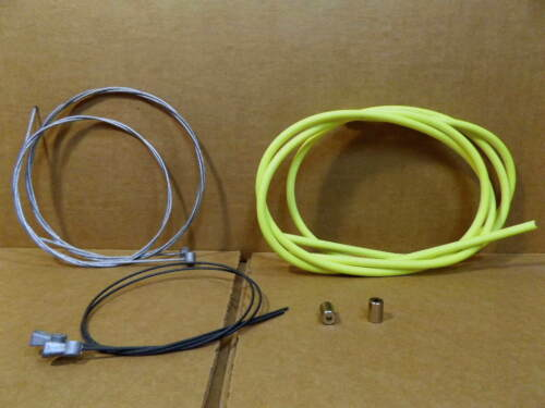 New-Old-Stock Casiraghi MTB Brake Cable//Housing Set Neon Yellow