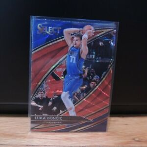 2019-20-Luka-Doncic-Panini-Select-Courtside-Red-Wave-T-Mall-Prizm-Holo-SSP
