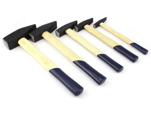 Schlosserhammer Satz 5-tlg,Hammer Set 100 1000 1500g 300 Holzstiel 200