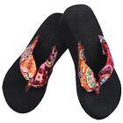 Filles Chaussures Pantoufles Semelle Compensée Sandales Tongs Plage Décontracté