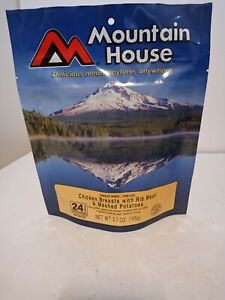 Mountain House Freeze Dried Food Pouches Chicken Breasts W/ Rib Camp Trail MRE