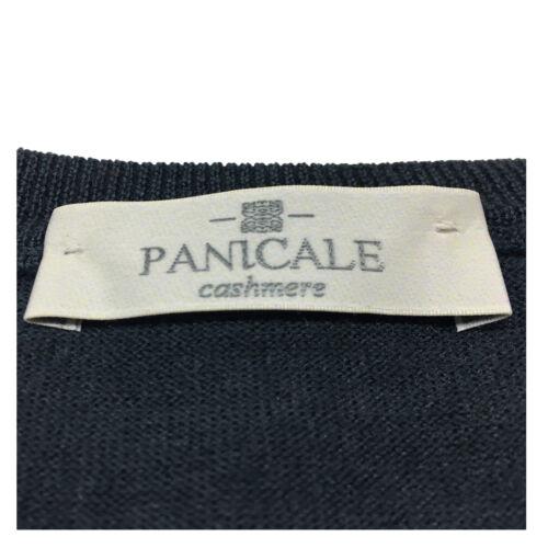 PANICALE maglia uomo antracite 70/%lana 20/%seta 10/%cashmere MADE IN ITALY