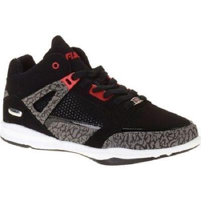 Athletic High Top Basketball Shoe Black