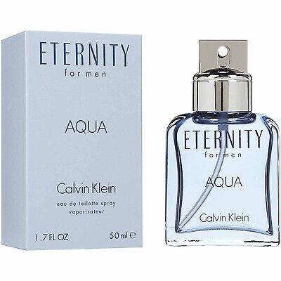Profumo uomo Calvin Klein CK Eternity Man 100ml EDT vapo spray