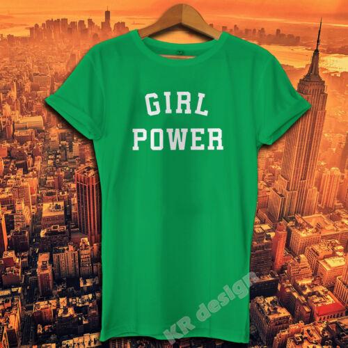 Girl Power T-Shirt Smash The Patriarchy Feminst Fille Pwr Haut Unisexe 02