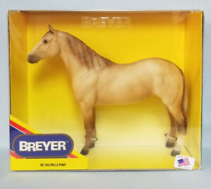 Breyer-743-Criollo-Pony-Dun-Galiceno-Pony-Model-Horse-Retired-USA-NIB