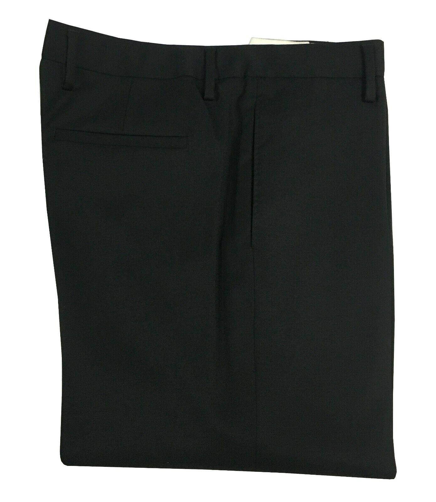 MAURO GRIFONI pantalone uomo nero tessuto diagonale flanella pesante MADE IN ITA