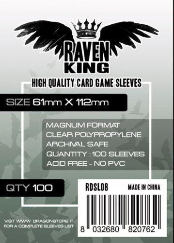 Raven KING-Sachets Protective 61x112mm