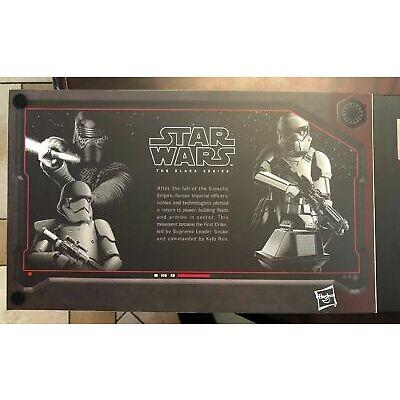 "Star Wars Disneyland Galaxy's Edge Black Series The First Order 6"" Exclusive Set"