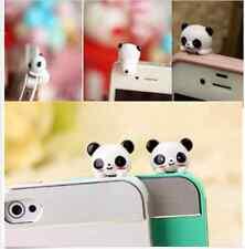 Mobile Phone Panda Cartoon Anti-Dust Plug Earphone Cover Stopper  Fashionable