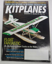 Kitplanes Magazine Float Fantastic Tundra On The Water June 2008 072215R