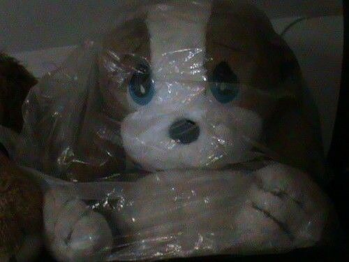 Sad & sam honey peluche gigante 65X55 originale anni 80 cane malinconico