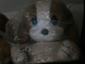 sad-amp-sam-honey-peluche-gigante-65X55-originale-anni-80-cane-malinconico