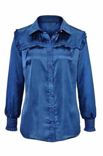 Damen Bluse von my Style 240868 in Blau 38