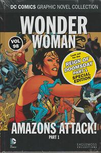 DC COMICS GRAPHIC NOVEL  VOL 98 WONDER WOMAN AMAZONS ATTACK PART 1 FREE POSTAGE