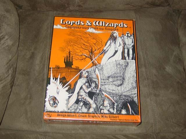 Fantasy Games Unlimited - Lords & Wizards - Conquer and Rule an Empire  SEALED