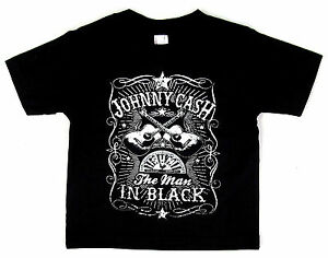 JOHNNY-CASH-Baby-Infant-T-shirt-Man-In-Black-Country-Rock-Tee-6M-12M-18M-24M-New